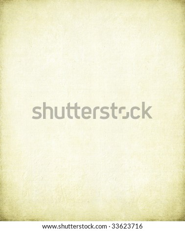 Antique paper with light bamboo rib - stock photo
