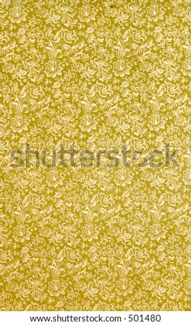 Antique pattern from 1904. - stock photo
