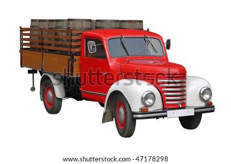 Antique pick up - stock photo
