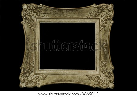 Antique picture frame - stock photo
