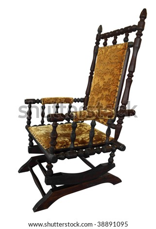Antique Rocking Chair Stock Images Royalty Free Images