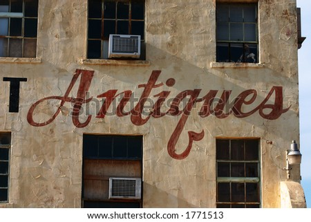 Antique Store - stock photo