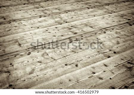 antique style wooden floor - illustration - stock photo