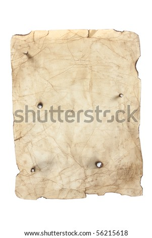 antique style yellow old distressed and aged paper - stock photo