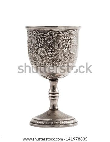 Antique vine cup - stock photo