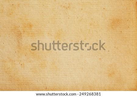 Antique Vintage Retro Parchment Paper Background Texture Cream Tan - stock photo