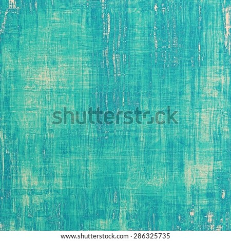 Antique vintage texture, old-fashioned weathered background. With different color patterns: gray; blue; cyan - stock photo