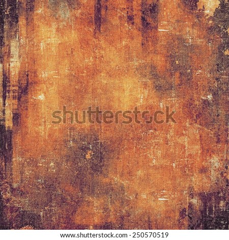 Antique vintage texture, old-fashioned weathered background. With different color patterns: yellow (beige); brown; red (orange); purple (violet) - stock photo