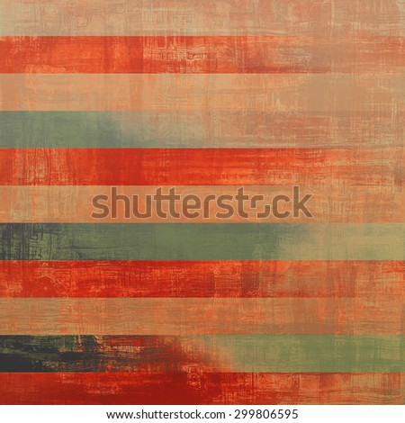 Antique vintage texture, old-fashioned weathered background. With different color patterns: yellow (beige); gray; green; red (orange) - stock photo