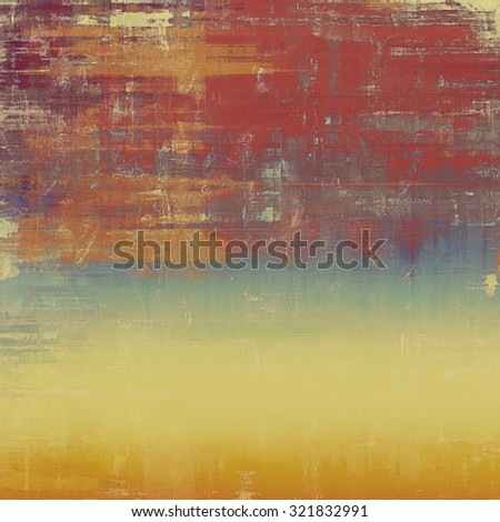 Antique vintage texture or background. With different color patterns: yellow (beige); brown; purple (violet); blue - stock photo