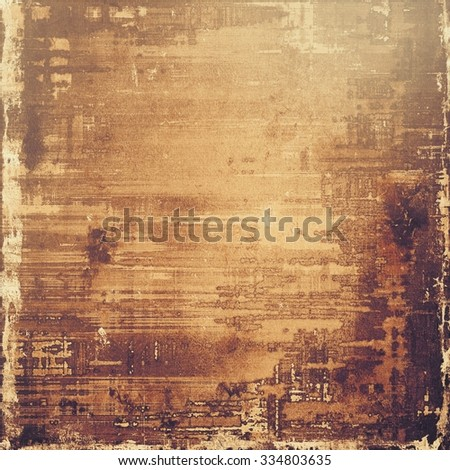 Antique vintage textured background. With different color patterns: yellow (beige); brown; gray - stock photo