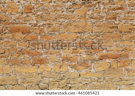 Antique wall as background