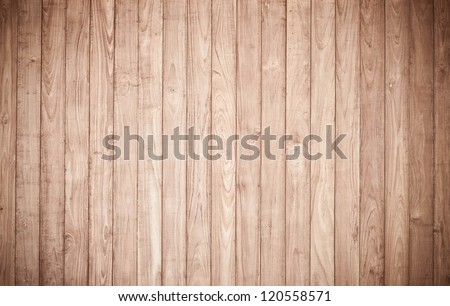 Antique wood panels used as background - stock photo