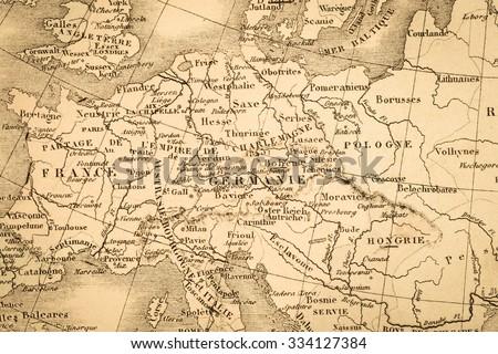 Antique world map europe imagen de archivo stock 334127384 antique world map europe gumiabroncs Images