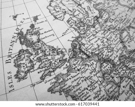 Antique world map europe stock photo edit now shutterstock antique world map europe gumiabroncs Gallery