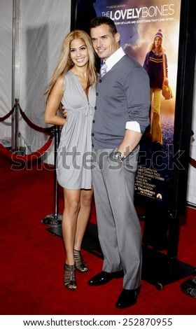 """Antonio Sabato Jr. at the Los Angeles Premiere of """"The Lovely Bones"""" held at the Grauman's Chinese Theater in Hollywood, California, United States on December 7, 2009.  - stock photo"""
