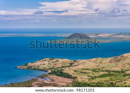 Antsiranana bay (Diego Suarez), northern Madagascar - stock photo