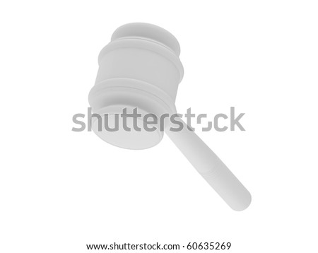 Anvil of the justice. - stock photo