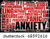 Anxiety and Stress and its Destructive Qualities - stock photo