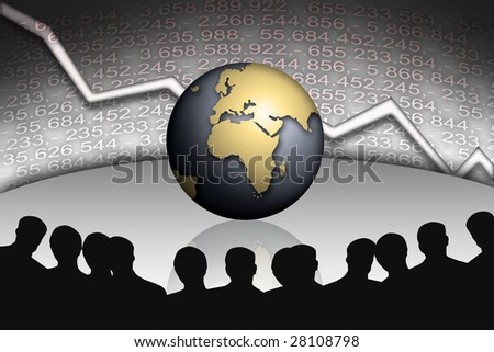 Any corrupt banking managers of our time - stock photo