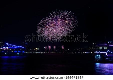 Any fireworks displays - stock photo