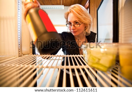 anyone for wine? - stock photo