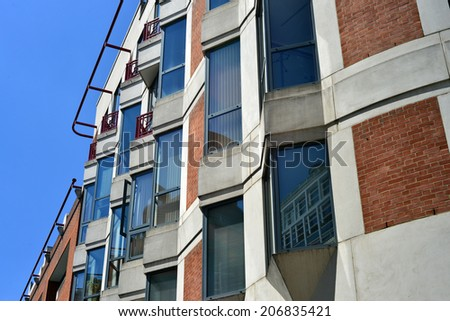 Apartaments blocks  - stock photo
