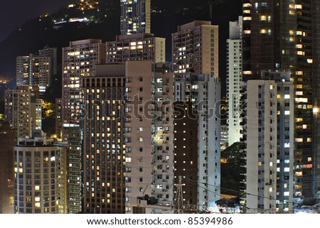 Apartment Blocks Night Stock Photos Royalty Free Images Vectors
