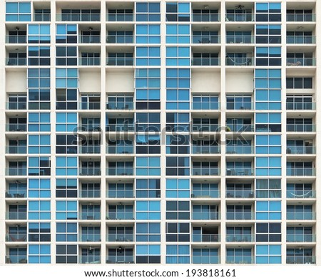 Apartment building in Panama City, Panama - stock photo