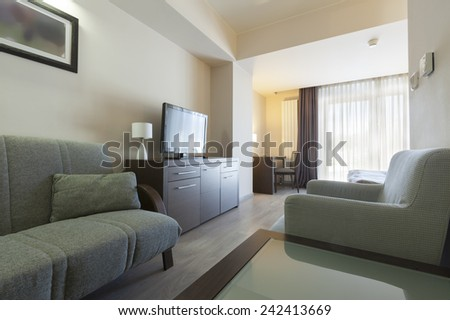 apartment hotel interior