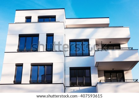 apartments - stock photo