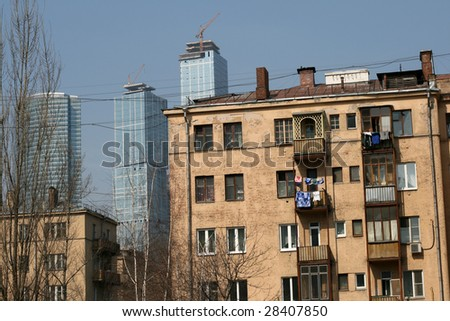 apartments moscow russia. Apartments in Moscow  Russia Stock Photo Royalty Free 28407850