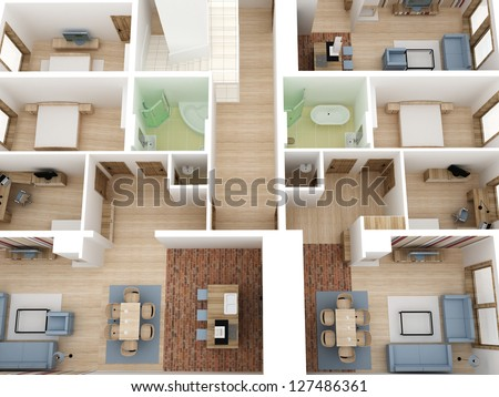 Gwycech 39 s portfolio on shutterstock for Apartment design process