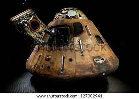 Apollo Spacecraft, Cape Canaveral, 12/08/2012 - stock photo