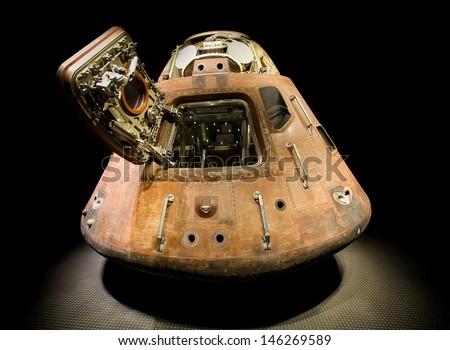 Apollo Spacecraft, Cape Canaveral - stock photo