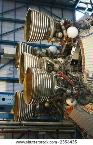 Apollo thrusters engine - stock photo