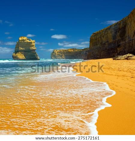 Apostle Bay. Great Ocean Road. Australia.  - stock photo
