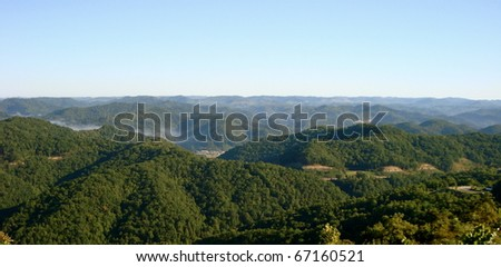 Appalachian Mountains - stock photo