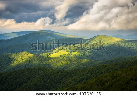 Appalachian Trail at Roan Mountain State Park Blue Ridge Mountains Tennessee scenic landscape photography