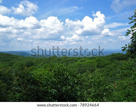 Appalachian Trail in New York - stock photo