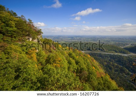 Appalachians - stock photo