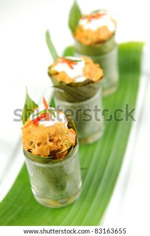 appetizer, asia - stock photo