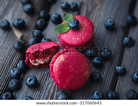 appetizer sweets - stock photo