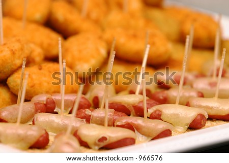 Appetizer Tray - stock photo