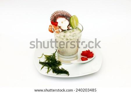 Appetizers Peruvian Traditional Dish  - stock photo