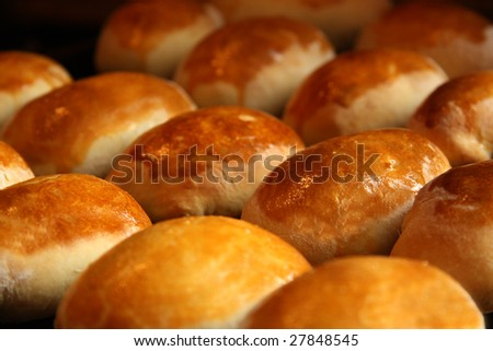 appetizing hot pies