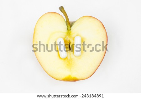 apple 2.0 - stock photo