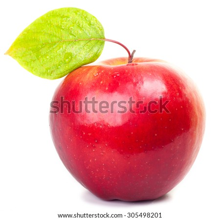 Apple. - stock photo