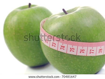 Apple and meter  - Diet