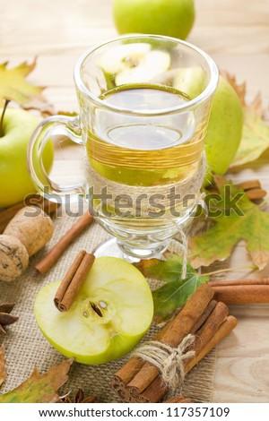 Apple cider - stock photo